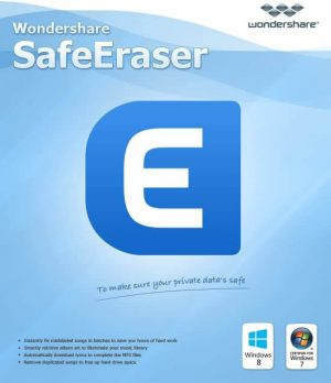 Wondershare SafeEraser Patch