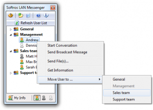 Softros LAN Messenger 9.5.5 + Crack [ Latest Version ] 2020