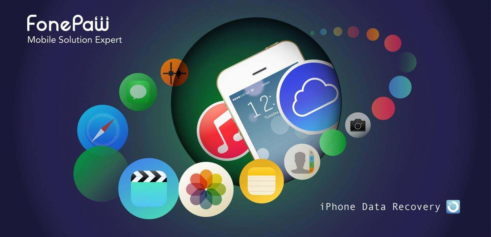 FonePaw iPhone Data Recovery Free Download