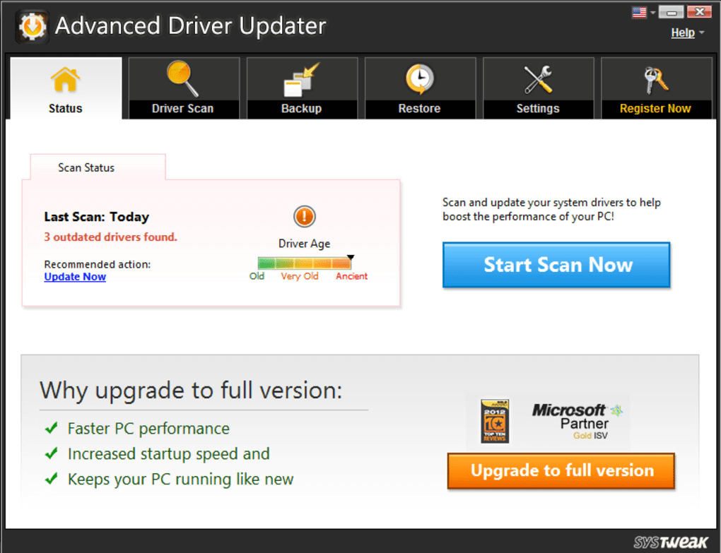 Advanced Driver Updater Patch