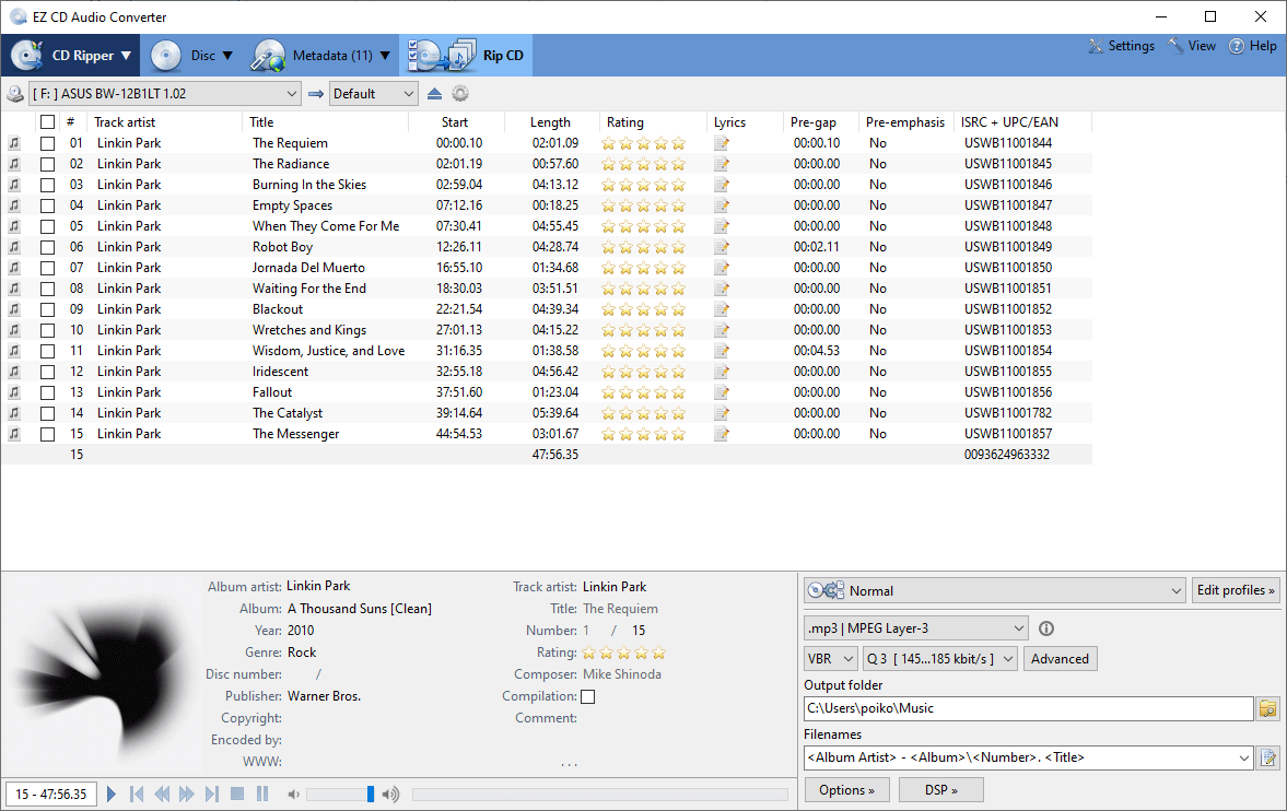EZ CD Audio Converter Pro Registration Code