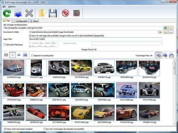 Bulk Image Downloader 5.47 Activation Code