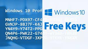 Windows 10 serial keys